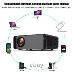 12000 Lumens Smart LED Projector Android WiFi Bluetooth 4K Home Theater Cinema