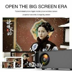 18000 Lumens Smart LED Projector Android WiFi Bluetooth Home Theater Cinema uk