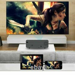 22000 Lumens Projector WiFi Android LED HD 1080P Home Theater Cinema HDMI USB AV