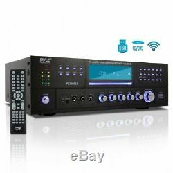 3000w Bluetooth Home Digital Stereo Audio Theater Power Amp Amplifier Receiver