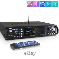 3000w Bluetooth Hybrid Pre Amp Amplifier Fm Stereo Home Theater Receiver System
