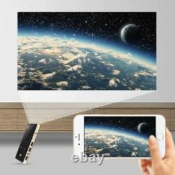 4K 3D Full HD Smart DLP HDMI Mini Projector LED Android WiFi 1080P Home Theater