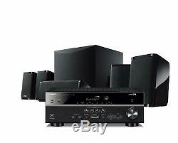 4K Ultra HD HDMI Home Theater System 5.1 Speaker With Bluetooth Receiver NEW