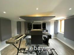 4x Acoustic Panels Walls & Ceiling Absorption Studio, Office, Theatre, Home