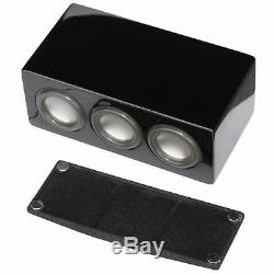 5Pc AuraSound Whisper Mini 5.1 Surround Sound Home Theater Satellite Speakers