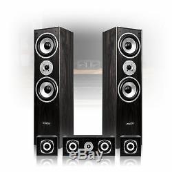 5.0 Surround Sound Speakers Black Finish Home Cinema Hi-Fi Theatre System 1150W