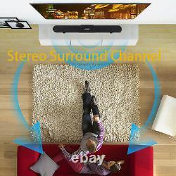 60W Soundbar Wired & Wireless Bluetooth Home Theater TV Speaker With Remote New