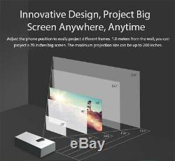 6.01 Blackview MAX 1 6+64GB Laser Projector Smartphone Mini Home Theater AMOLED