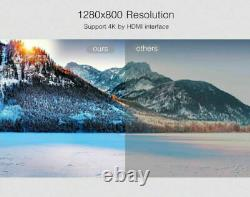 9000Lumens Android HD 4K 3D DLP Projector Wifi Home Theater Cinema HDMI USB RJ45