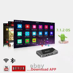 Android Smart Mini LED LASER Portable Pico Projector Home Theater 4K 3D Cinema