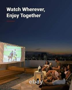 Anker NEBULA Mars II Pro Portable Wi-Fi Projector Android 7.1 150 Home Theater