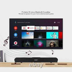 Bluetooth 3D Surround Sound Bar Wireless TV Home Theater Soundbar Speaker 2021