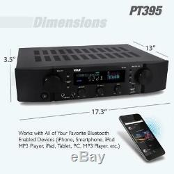 Bluetooth Hybrid Home Theater Pre Amp Amplifier Stereo Receiver Sound System Mp3