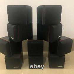 Bose Acoustimass 10 Home Theatre Speaker System c/w 5 x Redline Double Cubes