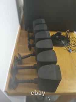 Bose Acoustimass 15 Series II Home Theatre 6.1 surround speaker system (Black)