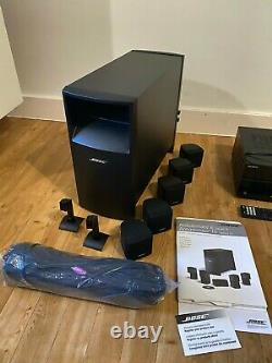Bose Acoustimass speakers 5.1 with Sony AV receiver home theater