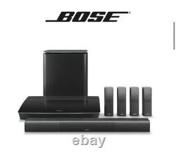 Bose Lifestyle 650 Home Theater System With Omnijewel Speakers Black- New in Box