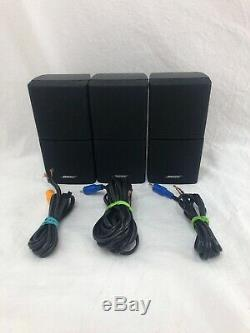 Bose Lifestyle AV28 DVD Home Theater Surround Sound System Bundle Fully Tested