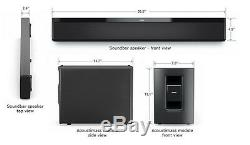 Bose SOUND BAR Lifestyle 135 Home Theatre Speakers EX DISPLAY