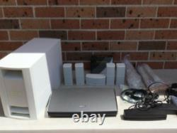 Bose lifestyle 525 sound touch home theatre white complete with all cables & box