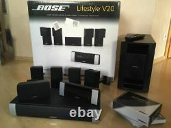 Bose lifestyle V20 home theatre system amazing sound