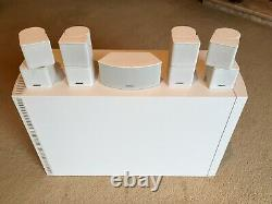 Bose lifestyle V35 home theatre system complete with wall brackets