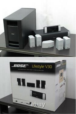 Bose lifestyle v30 home theatre system top condition & wall brackets complete
