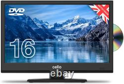 Cello C1620FS/ZSF0261 16 inch Full HD LED TV/DVD Freeview HD and Satellite 2020