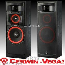 Cerwin-Vega XLS-12 12in 3 way Floor Tower Speakers Home Theater Set Pair