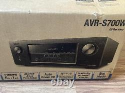 DENON AVR-S700W 7.2 Channel Home Theater Receiver with WiFi, Bluetooth, & Airplay