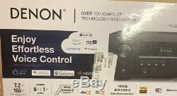 DENON AVR-S750H 7.2 Channel 4K Ultra HD Home Theater Network AV Receiver