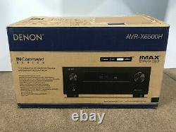 Denon 11.2 Home Theater Receiver (140 watts) AVR-X6500H NEW Sealed inside Dolby