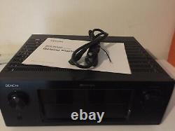 Denon AVR-3313CI Home Theater Receiver 7.2 Channel With Manual