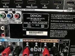 Denon AVR-X3300W 7.2 Channel Full 4K Home Theater Receiver Wifi Bluetooth