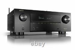 Denon AVR-X3700H 9.2 Channel 8K Home Theater AV Receiver- BRAND NEW IN BOX