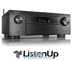 Denon AVR-X6500H 11.2-channel home theater receiver With Wi-Fi, Apple AirPlay 2