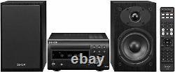 Denon D-M41 Home Theater Mini Amplifier and Bookshelf Speak Read Description