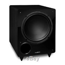 Fluance DB10 10-inch Low Frequency Front Firing Powered Subwoofer Home Theater