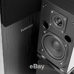 Fluance SXHTB-BK Surround Sound Home Theater Speaker System