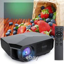 Full HD Native 4600 Lumen Home Theater HD TV 3D LCD LED Video Projector 40001