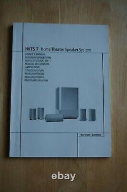 Harman/Kardon HKTS 7 5.1Ch Home Theatre Speaker System
