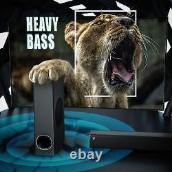 Home TV Theater Soundbar Wireless Bluetooth Speaker Superior Surround Subwoofer