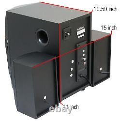 Home Theater Speaker System Stereo Surround Sound Speakers Wireless USB Audio