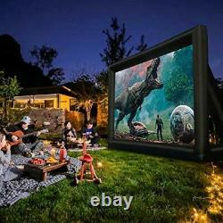 Inflatable Outdoor Movie Projector Screen, Home Theater, Backyard Movie Parties