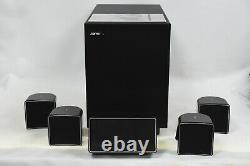 Jamo A10 Complete 5.1 Surround Sound Home Theater Speaker Set includes Subwoofer