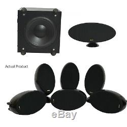 KEF 5.1 KHT 2005.2 Speaker Package Home Theatre Centre + Sub Good Condition