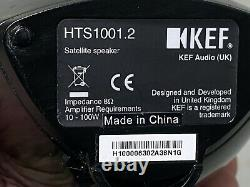 KEF Home Theatre 1000 1005.2 System + Kube-1 SubWoofer + 5 Speakers Boxed