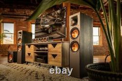 Klipsch R-620F Speakers PAIR Floor Standing Loudspeakers Home Theatre