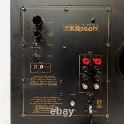 Klipsch Synergy KSW12 440W Active Amp Powered 12 Subwoofer Sub Home Theater