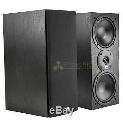 MTX Audio Monitor60i Bookshelf Speakers 6.5 2 Way Loudspeaker Home Theater Pair